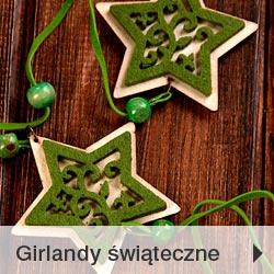 Girlandy świąteczne Bożonarodzeniowe