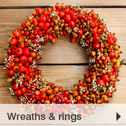 Wreaths and rings
