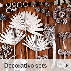 Decorative sets for christmas decorations