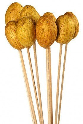Amra on stick, 10 pcs/pkg - yellow