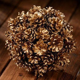 Ball of gold cones 14-20 cm