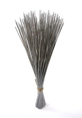 Bunch of silver sticks 24 pcs - 70 cm