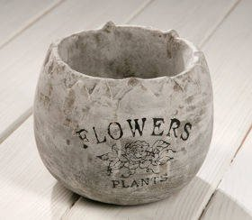 Ceramic flower pot 12/12 cm