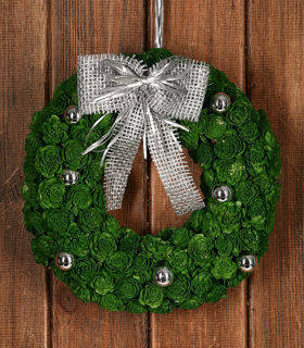 Christmas Wreath in green ca. 30 cm