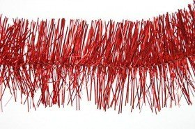 Christmas chain, red, length 2.7 m