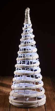 Christmas tree silver 35 cm