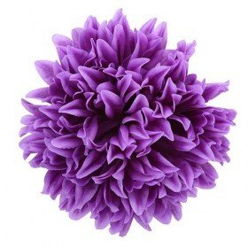 Chrysanthemum head, 16.5 cm - 12 pcs/pkg  - lilac