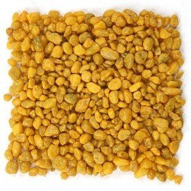 Colourful pebbles 200 g - yellow