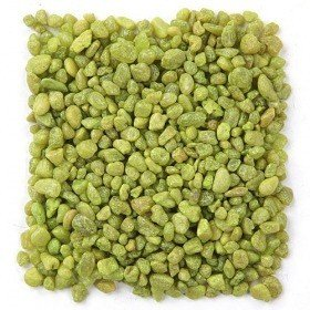 Colourful pebbles 350 g - light green