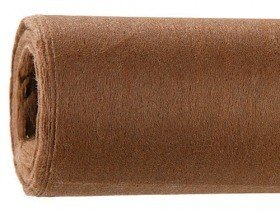 Decorative thick interfacing, W 50 cm L 8,5 m - brown PROMOTION