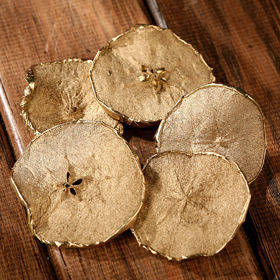 Dried apples in slices 6 pcs/pkg gold