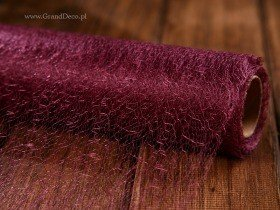 Fibre mesh, big roll, 40 cm x 9y, plum