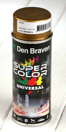 Gold spray paint 400 ml