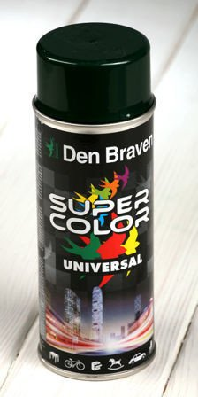 Green spray paint 400 ml RAL 6005
