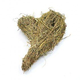 Heart (Hannah Collection) of fragrant hay ca. 26 cm