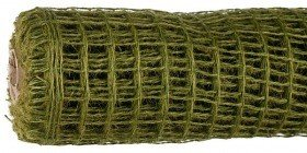 Jute net 50 cm x 5 m - dark green