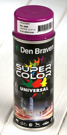 Lilac spray paint 400 ml RAL 4008