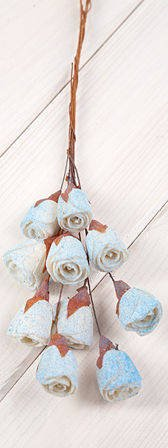 Lily midi on wire 30pcs/pkg light sky-blue