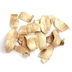 Meho Spoon husks, 100g - gold ca. 30 pcs