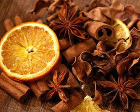 Natural Potpourri – Cinnamon, Anise and Sweet Orange Fragrance (B)