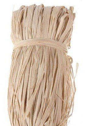 Natural raffia, big pack 100 g