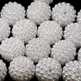 Original set (O) pearls ca. 250 pcs.white