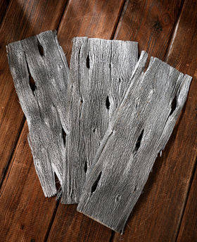 Papaya bark, sheets 28x10 cm, 200g 6pcs/pkg silver