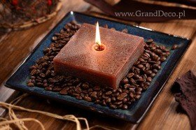 Potpourri Set with candle- Coffee