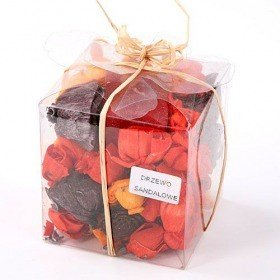 Potpourri Set with candle- Colour mix