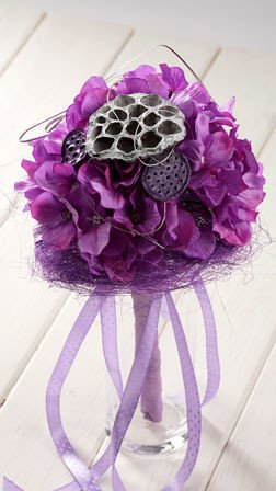 Purple bouquet