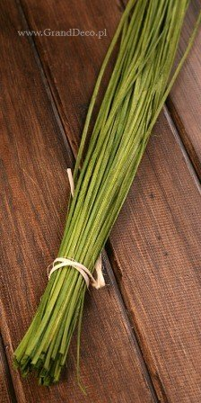 Rattan strips - length 100 cm, bunch ca. 50 g - olive