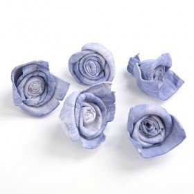 Rossario flowers, 3 cm, 24 pcs/pkg - light purple