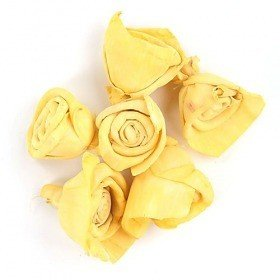 Rossario flowers, 3 cm, 24 pcs/pkg - yellow PROMOTION