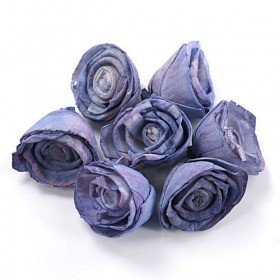 Rossario flowers, 4 cm, 10 pcs/pkg - light puple