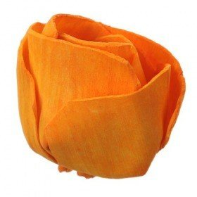 Rossario flowers bud, 6 cm, 8 pcs/pkg - bright orange