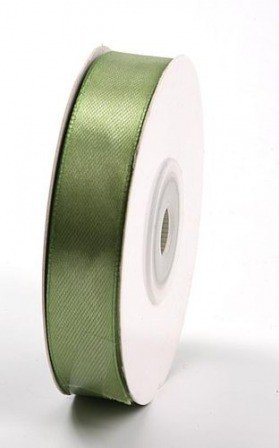 Sateen ribbon width 15 mm length 35 m -  olive (36)