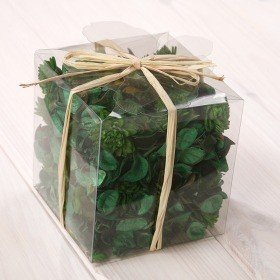 Set of potpourri in box - green