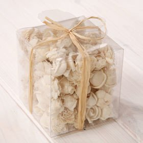 Set of potpourri in box - white flowers