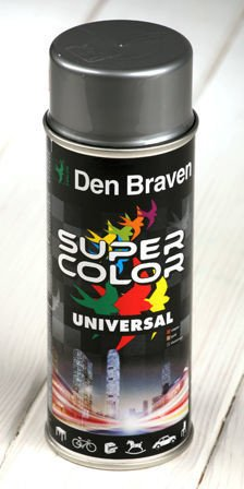Silver spray paint 400 ml RAL 9006