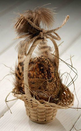 Spring basket - natural