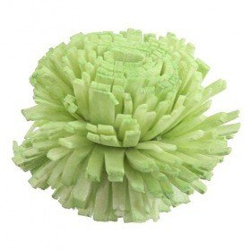 Star flowers, 4 cm, 10 pcs/pkg, light green