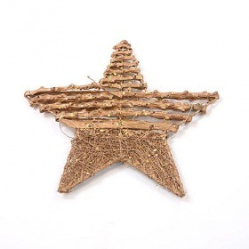 Star with 20 cm gold sticks