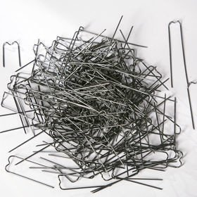 Steel pins, 100 g, ca. 200 pcs. 30 x 12 mm