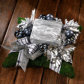 Winter Arrangement silver