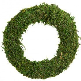 Wreath of moss 17  cm