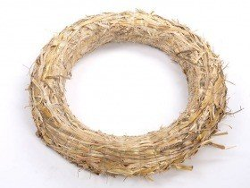 Wreath of straw 30/5 cm 10 pcs