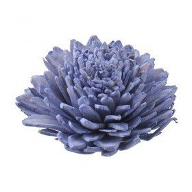 Zinia flowers, 5 cm, 10 pcs/pkg - light purple