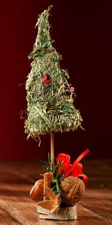 holiday tree (Hannah Collection) of fragrant hay ca 18-22