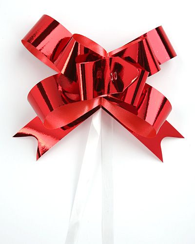 Ribbon Red, Width Ribbon 1 Cm 50 Pieces / Piece