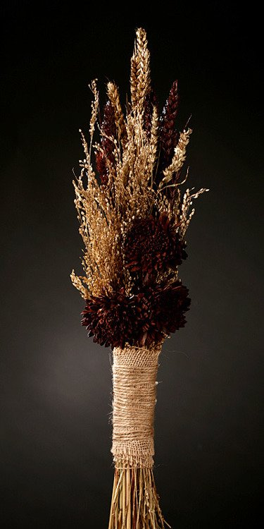Natural Brown Arrangement (ca.30cm)